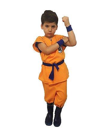 Fantasia Goku Dragon Ball Infantil
