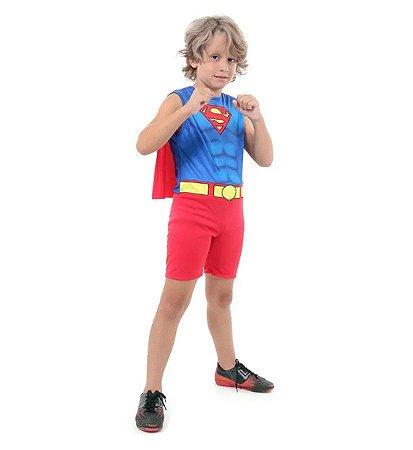 Fantasia Super Homem Regata