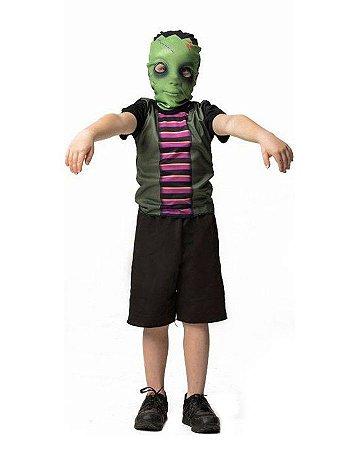 Fantasia Frankie Infantil Halloween