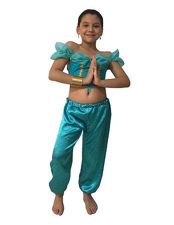Fantasia Princesa Jasmine Infantil