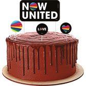 Topper de bolo Now united - 04 unidades