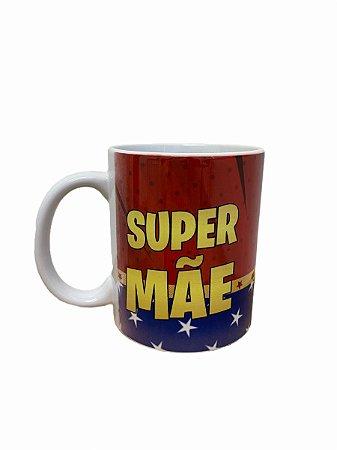 Caneca Cerâmica - Super Mãe