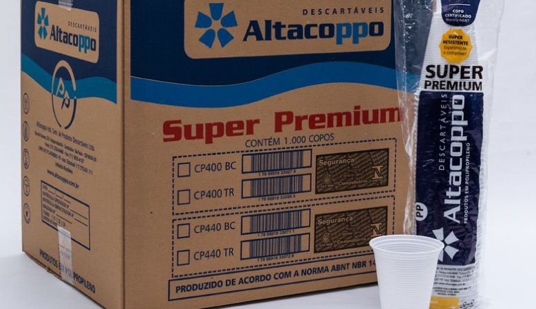 Copo descartável 50 ml (caixa com 5.000 unidades) - Altacoppo