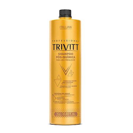 Shampoo pós química uso frequente 1 litro - Trivitt