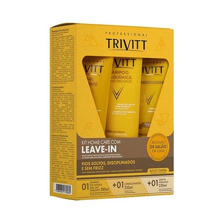 Kit Home Care com Leave-in - Trivitt