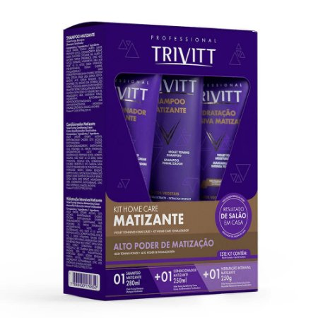Kit Home Care Matizante - Trivitt