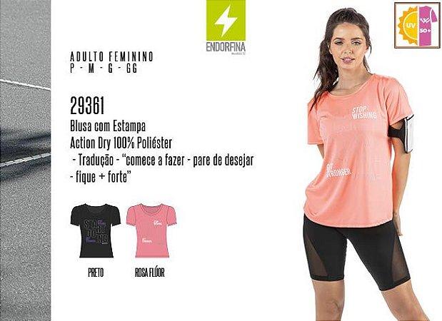 Blusa Feminina Endorfina c/ Estampa