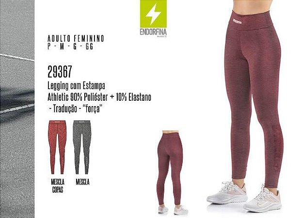 Legging Feminina Endorfina c/ Estampa