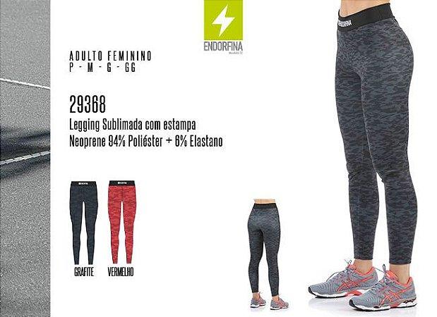 Legging Sublimada Feminina Endorfina c/ Estampa