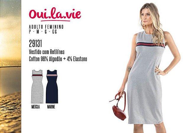 Vestido Feminino Oui.la.vie c/ Retilínea