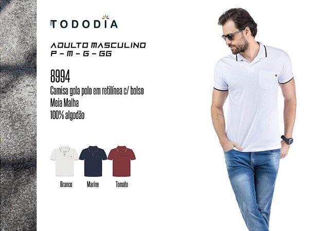 Camisa Polo Bolso TZE