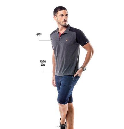 Camisa Polo Recorte Ombros No Stress