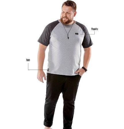 Camiseta Raglan Plus No Stress