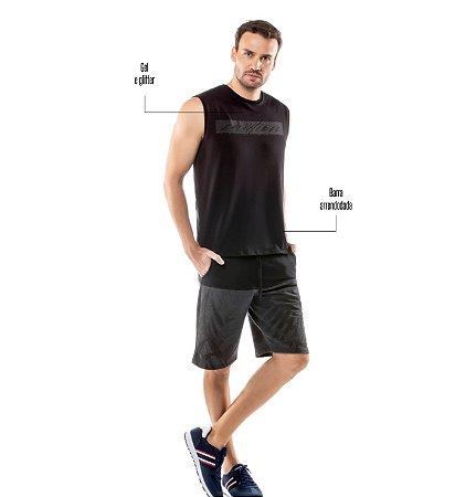 Camiseta Estampa Geométrica TZE