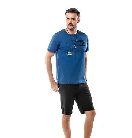 Camiseta Estampa Listras TZE