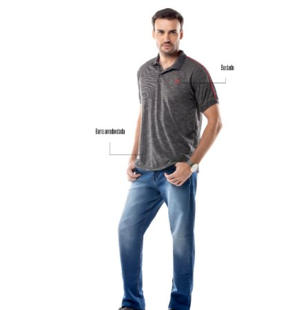 Camisa Polo Grega Ombro TZE