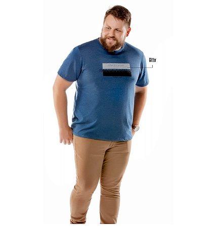 Camiseta Estampa Brilho Plus TZE