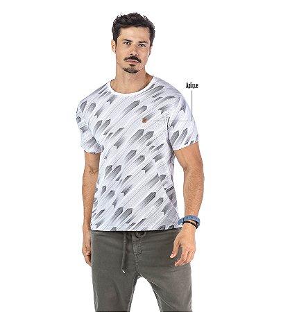 Camiseta Estampa Full Print No Stress