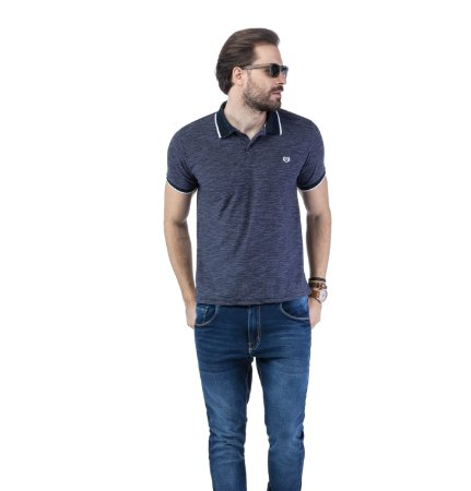 Camisa Polo Jacquard TZE