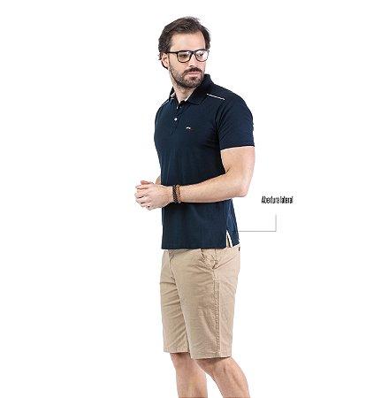 Camisa Polo Detalhe Ombros TZE