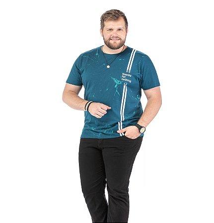 Camiseta Estampa Frontal Plus TZE