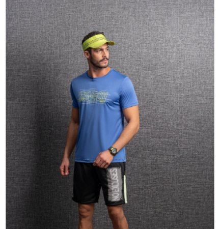 Camiseta Dry Estampa MOVE ON Masculino Endorfina