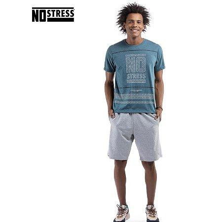 Camiseta com Estampa No Stress