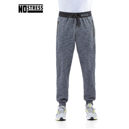 Calça de Moletom Double com Ziper No Stress