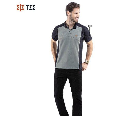 Camisa Polo com Recorte TZE