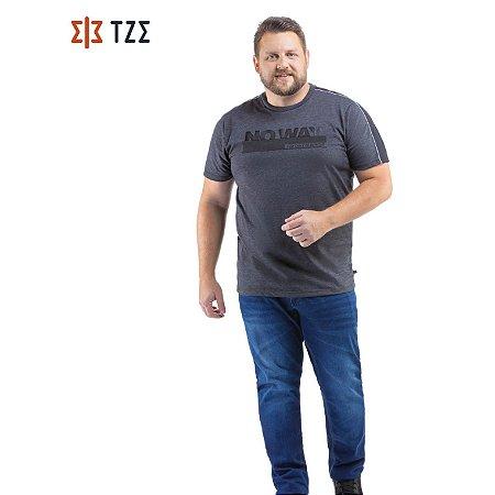 Camiseta com Recorte Ombros TZE Plus