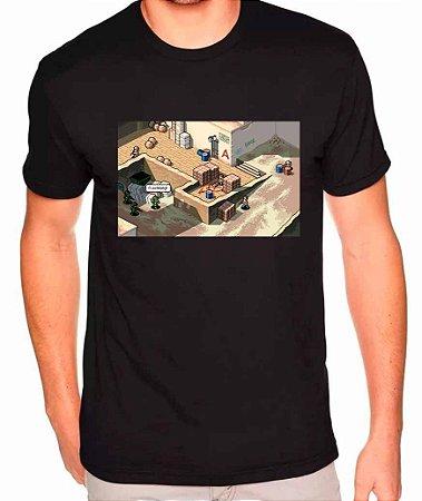 Camiseta Counter-Strike - Dust 2 32 BITS