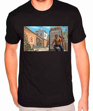 Camiseta Counter-Strike - Dust2