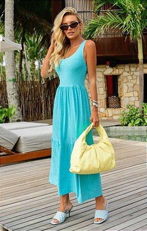 Vestido Madeleine Azul
