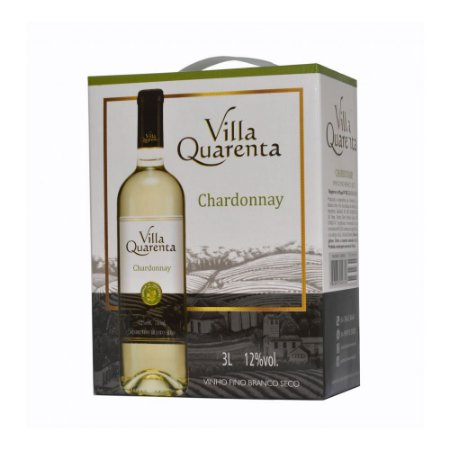 Villa Quarenta Bag in Box Chardonnay Três Litros - 3 litros