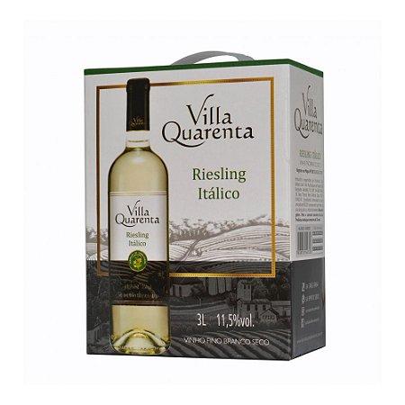 Villa Quarenta Bag In Box Riesling Itálico Três Litros - 3 litros