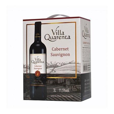 Villa Quarenta Bag in Box Cabernet Sauvignon Três Litros - 3 litros