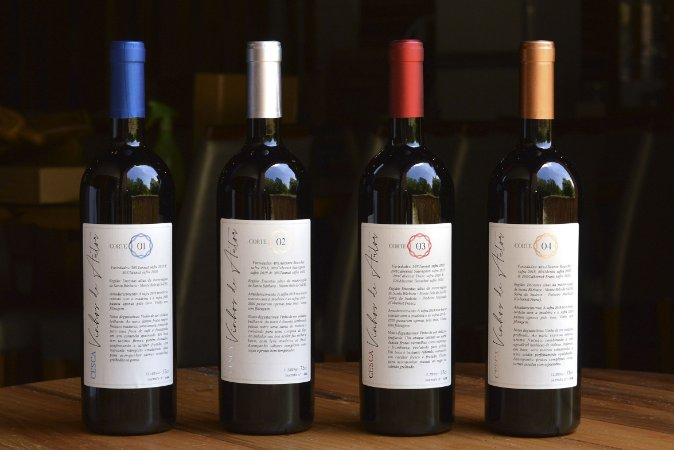 Santa Bárbara Vinhos de Autor CESCA (quatro vinhos)