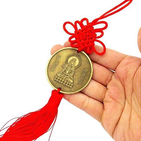 Amuleto Deusa Kuan Yin - Elevação