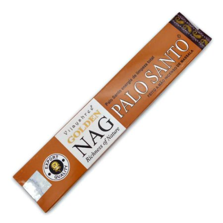 Incenso Palo Santo - Premium Golden Nag