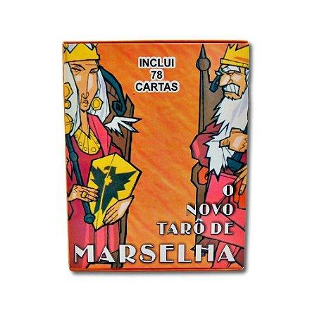 O Novo Tarô de Marselha com Livreto Explicativo