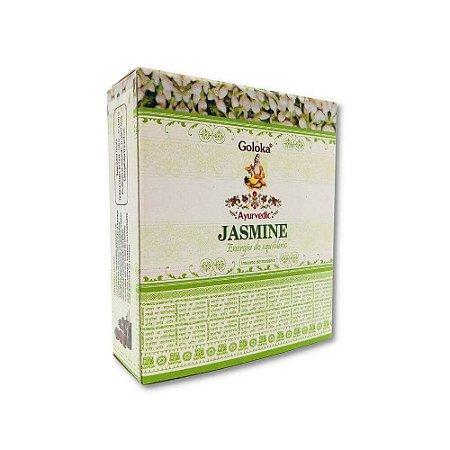 Incenso Cone Jasmim - Goloka