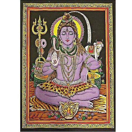 Pano Decorativo Shiva Tecido