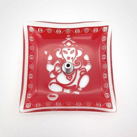 Incensário de Vidro Ganesha
