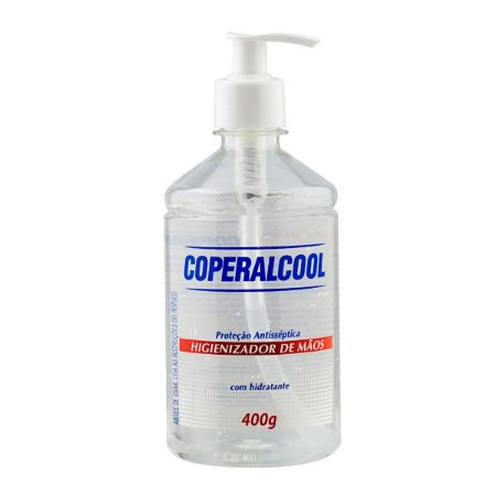 Álcool em gel 70% para mãos 400g Coperalcool