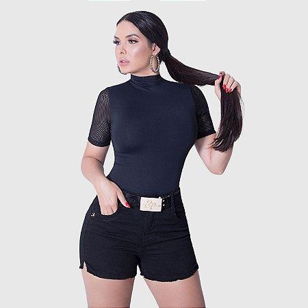 Short Feminino Set Jeans c/Cinto REF.:172335