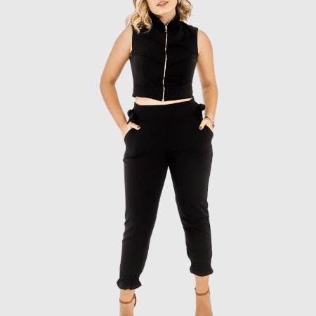 Conjunto Feminino Colete/Calça Tropical Fashion REF.:8444A