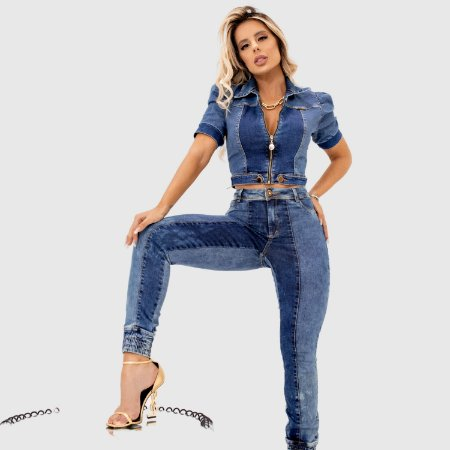 Jaqueta Feminina Set Jeans REF.:172375