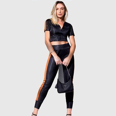 Conjunto Feminino Set Jeans REF.:172312