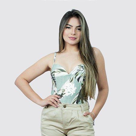 Blusa Feminina de Alça com Bojo MilneBay REF.:JIW01