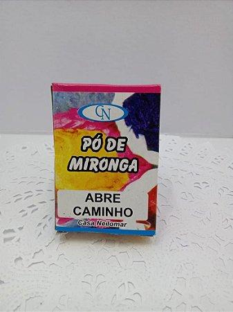 PÓ DE MIRONGA ABRE CAMINHO
